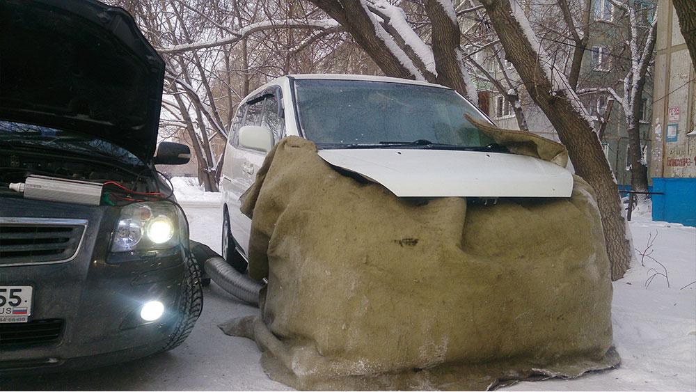 дизель зимой запуск