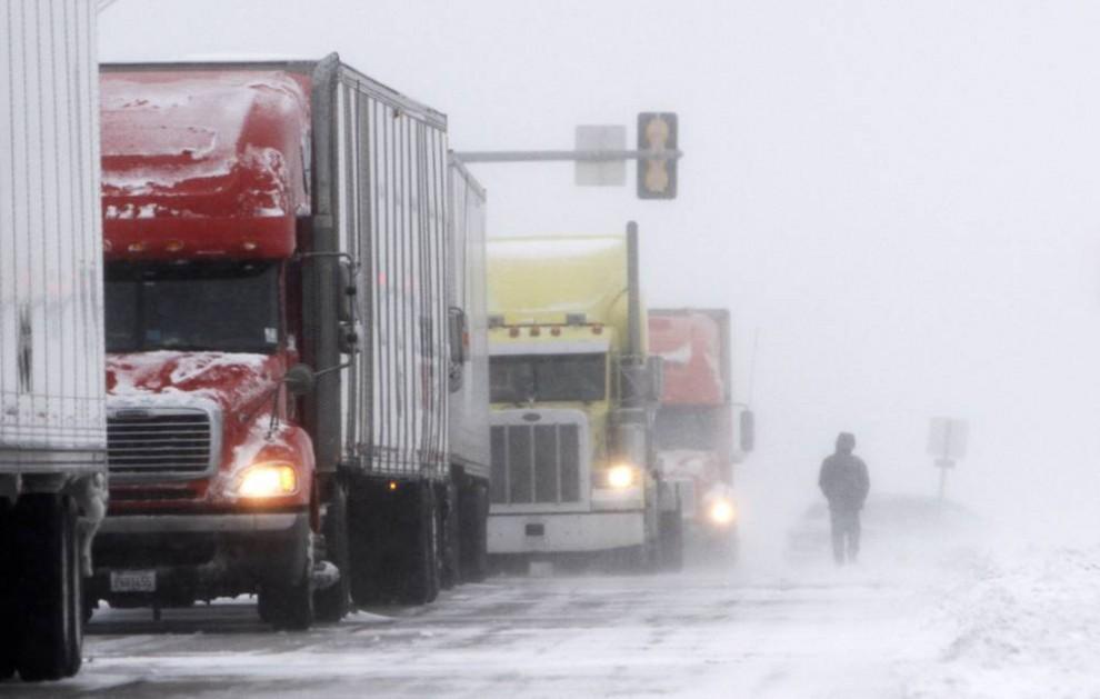 запуск грузовика в мороз
